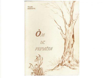 Oia de primaera  – Voglia di primavera – raccolta di poesie in dialetto bresciano con traduzione in italiano