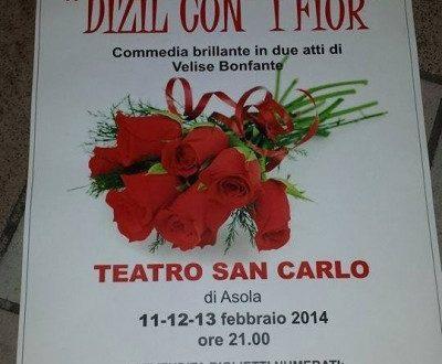 Dizil coi fiur – Ditelo coi fiori – commedia brillante in due atti in dialetto bresciano con traduzione in italiano