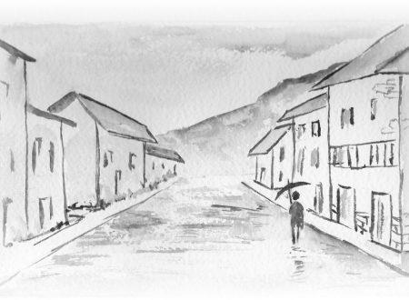 La pocia – La pozzanghera – poesia in dialetto bresciano con traduzione in italiano