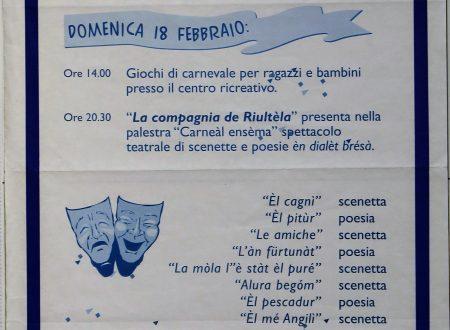 La mòla l'è stat el puré – La molla è stato il purè – sketch in dialetto Bresciano con traduzione letterale in Italiano