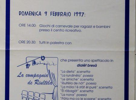 La dieta – sketch di Velise Bonfante in dialetto bresciano e in italiano