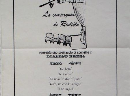 La memoria del mé òm – La memoria di mio marito – sketch in dialetto Bresciano