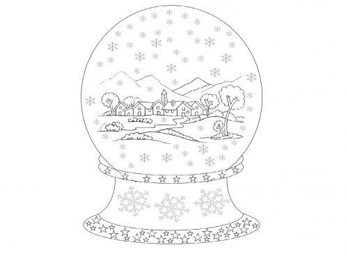 Boccia di vetro con neve – poesia di Velise Bonfante