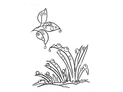 La rugiada – poesia di Velise Bonfante